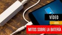 Mitos sobre la batería del móvil