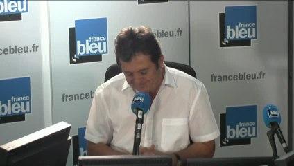 Gilles Poux, invité de France Bleu Paris