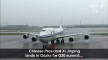 China's Xi arrives for high-stakes G20 summit