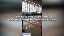 Aéroport de Lomé inondé après la pluie de lundi 24 juin 2019