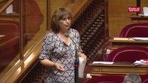 Éliane Assassi fustige l'encadrement du droit de grève dans la fonction publique territoriale