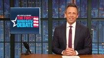 The First Democratic Presidential Debate