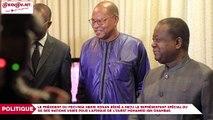 Le président du Pdci-Rda Henri Konan Bédié a reçu le représentant spécial du SG des Nations Unies pour l'Afrique de l'Ouest Mohamed Ibn Chambas