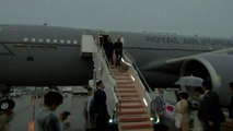 Theresa May arrives in Japan ahead of G20 summit