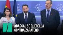Abascal se querella contra Zapatero