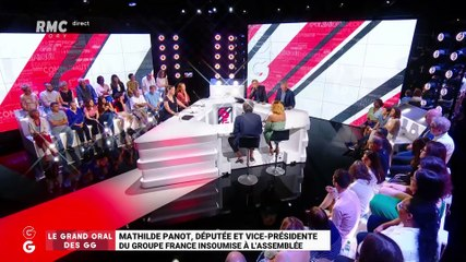 Mathilde Panot - RMC jeudi 27 juin 2019