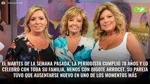 Escándalo María Teresa Campos (y acaba de estallar): Terelu y Carmen Borrego no quiere hablar