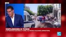 Explosions à TUNIS : Tous les détails des 2 attentats suicides - TUNISIE