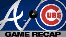 Braves hang on for 5-3 win over Cubs - Braves-Cubs Game Highlights 6/26/19