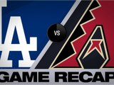 Escobar, Vargas lead D-backs to 8-2 win - Dodgers-D-backs Game Highlights 6/26/19