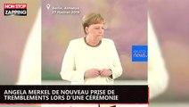 Angela Merkel de nouveau prise de tremblements lors d'une cérémonie (vidéo)
