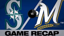 Vogelbach, Crawford lead Mariners in 8-3 win - Mariners-Brewers Game Highlights 6/25/19