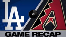 Turner, Taylor lift Dodgers to a 3-2 win - Dodgers-D-backs Game Highlights 6/25/19