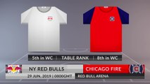 Match Preview: NY Red Bulls vs Chicago Fire on 29/06/2019
