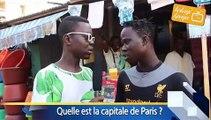 Voici ce que ça donne quand on demande la capitale de Paris à certains ivoiriens. A mourir de rire !