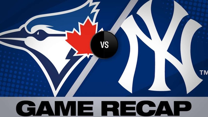 Yankees set MLB home run record in a 4-3 win - Blue Jays-Yankees Game Highlights 6/25/19
