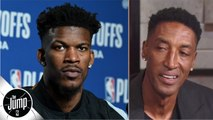 Jimmy Butler is good, but not good enough to be 'the star' on a team - Scottie Pippen - The Jump