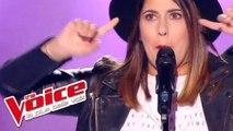 Indila – Dernière danse   Fanny Beaumont   The Voice France 2017   Blind Audition