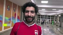 (Subtitled) Salah lookalike steals the limelight during African Cup of Nations in Egypt