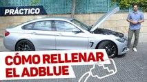 VÍDEO: Cómo recargar el Adblue de tu coche, paso a paso