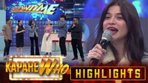 Anne Curtis thanks Direk Bobet for believing in her | It's Showtime KapareWho