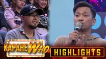 Jhong gives his message to the person who helped him in his career | It's Showtime KapareWho