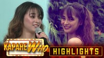 Jeric Raval's daughter joins KapareWho | It's Showtime KapareWho