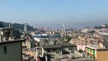 Genova - Demolizione Ponte Morandi, l'esplosione vista dai palazzi intorno al Polcevera (28.06.19)