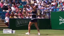 Karolina Pliskova eases past Kiki Bertens into the  Eastbourne International final
