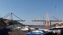 Genova - La demolizione del ponte Morandi 2 (28.06.19)