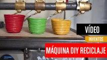 [CH] Máquina DIY para reciclar plástico y crear objetos