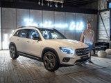 A bord du Mercedes GLB (2019)