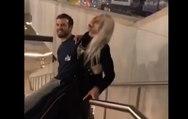 Elle glisse avec son copain sur une rambarde mais ça tourne mal !