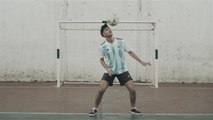 Fußball-Freestyle-Tricks: The Head Roll