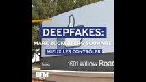 Deepfakes: Mark Zuckerberg souhaite mieux contrôler leur propagation sur Facebook