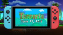 Terraria - Trailer de lancement Switch