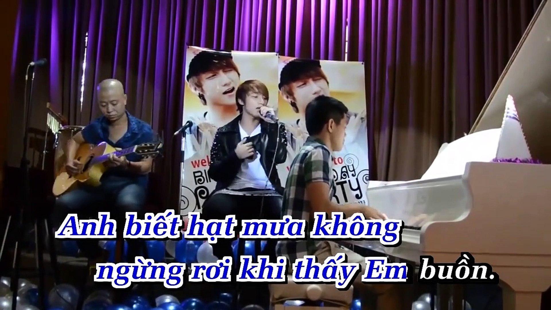 [Karaoke] Anh Sai Rồi - Sơn Tùng M-Tp [Beat]