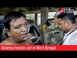 Phase 7: Violence breaks out in West Bengal, cars vandalized