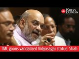 'TMC goons vandalized Vidyasagar statue, not BJP' says Amit Shah on Kolkata incident