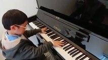 Jonah Ho joue la « Sonate au clair de lune » au piano