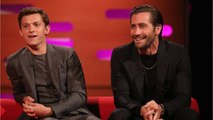 Tom Holland And Jake Gyllenhaal's Secret Treadmill Gym Battle