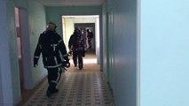 Exercice «feu réel» avec les pompiers du Calvados