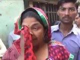 Gujarat Women denied cash for weddings in family cry outside banks