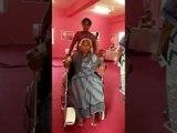 Karnataka polls: A voter in a wheelchair shows up to cast her vote