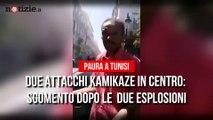 Tunisi, due kamikaze si fanno esplodere in pieno centro: paura tra i passanti | Notizie.t