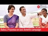 Rahul, Priyanka Gandhi on last #Amethi campaign before 5th phase polls