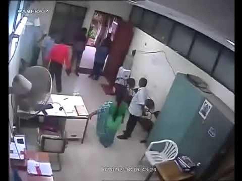 JNTU-H professor assaults Guard, video goes viral
