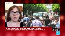 TUNISIE : Décès d'un policier dans l'attentat suicide dans le centre de Tunis