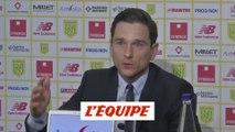 Vente du club «Ce n'était pas sérieux», estime Franck Kita - Foot - L1 - Nantes