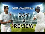 India vs Australia. First Test. Day 4 review